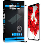 Luvvitt Tempered Glass for iPhone XS Max 6.5 inch Screen 2018