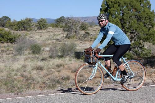 Ryan riding back to Albuquerque!