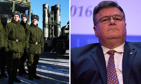 Minister's fears over Russian military in exclave