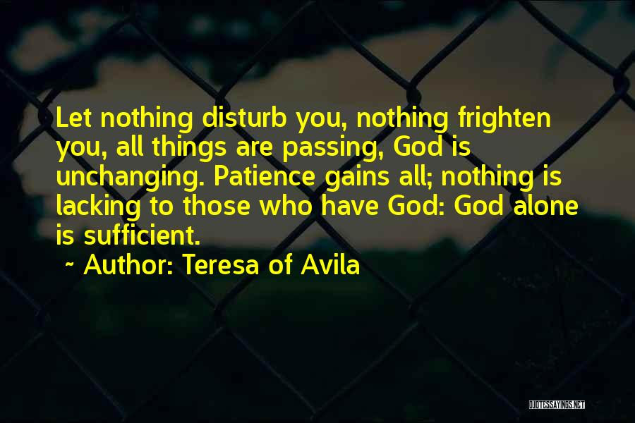 Top 1 St Teresa Patience Quotes Sayings