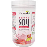 Total Soy Original Powder (Strawberry Cream) by Naturade - 17.88 Ounces