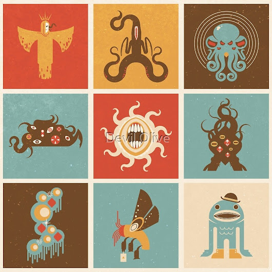 The Lovecraftian Squares