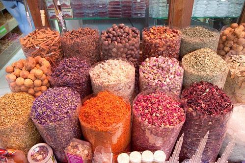Spices at Dubai Souk