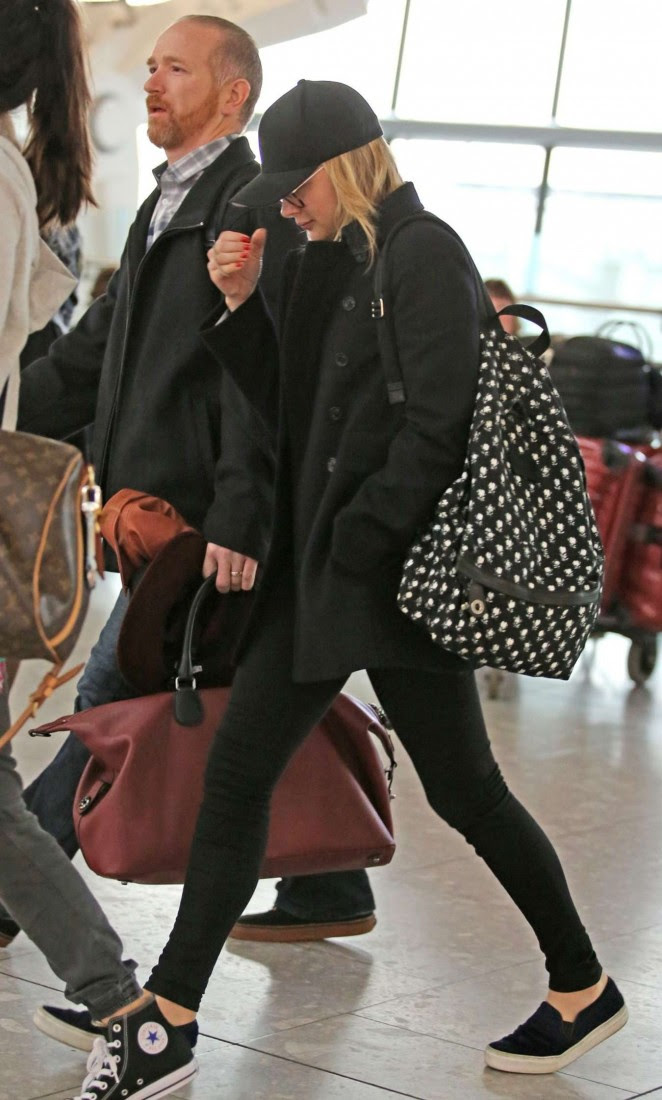 Chloe Moretz: Heathrow Airport -03