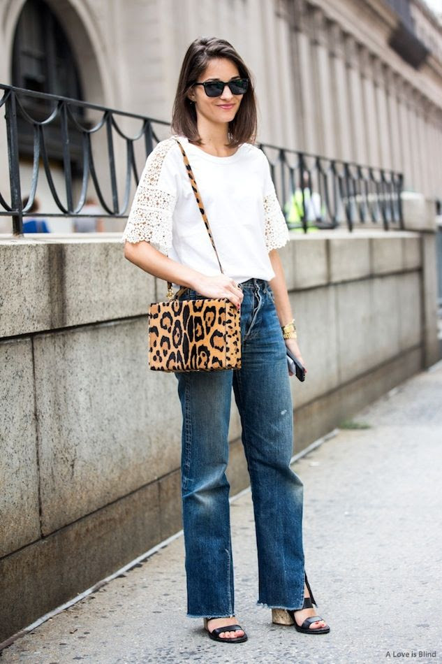 Le Fashion Blog NYC Street Style Maria Duenas Jacobs Lace Sleeve Tee Leopard Print Bag Vintage Jeans Sandals Spring Style Via A Love Is Blind photo Le-Fashion-Blog-NYC-Street-Style-Maria-Duenas-Jacobs-Lace-Sleeve-Tee-Leopard-Print-Bag-Vintage-Jeans-Sandals-Spring-Style-Via-A-Love-Is-Blind.jpg