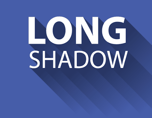 2 Ways To Create a Long Shadow Effect In 5 Steps or Less - Vectips