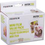 Fujifilm Instax Mini Instant Film Exposures, White - 60 count