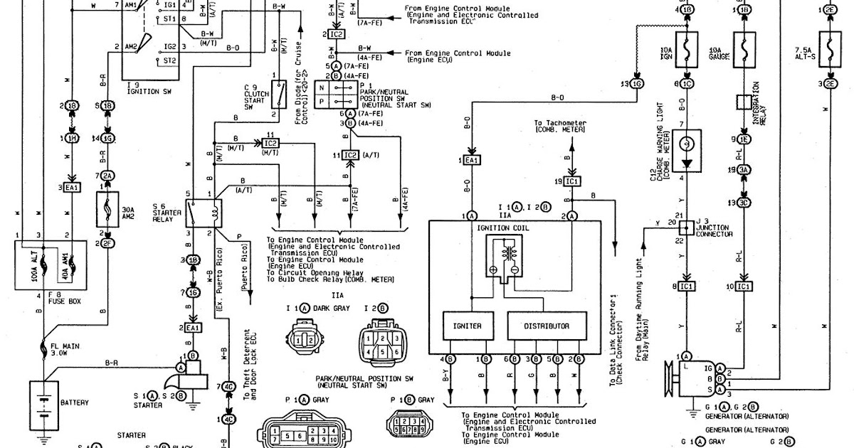 Toyota Ignition Coil Wiring Diagram / Beautiful Wiring