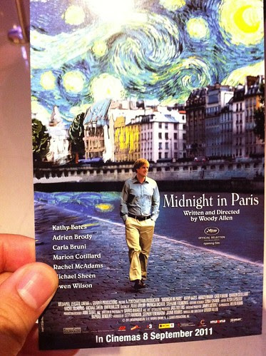 Midnight in Paris postcard