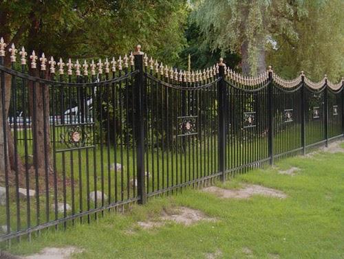 Steccato Per Giardino In Pvc : Recinzioni giardino ferro