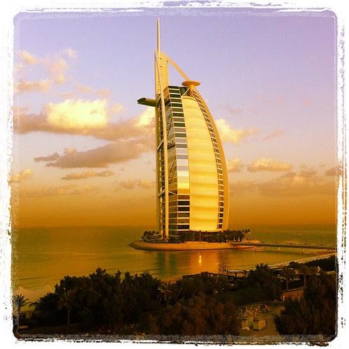 Hi again, Burj, looking nice during sunrise!