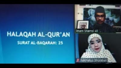 Halaqah Al Qur'an Virtual Bersama Imam Shamsi Ali   Pendiri Pesantren Pe...