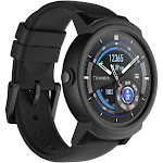 Mobvoi Ticwatch E (Express) Shadow - Smart Watch with Heart Rate Monitor - Black