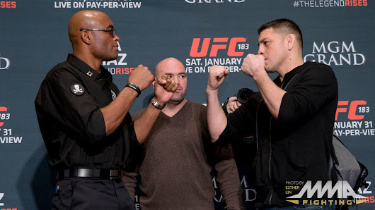 UFC 183 Anderson Silva vs. Nick Diaz full fight video preview