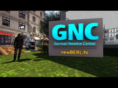 A Day in NewBERLIN / SecondLife (der GNC YouTube-Teaser für unsere SL-Sim)