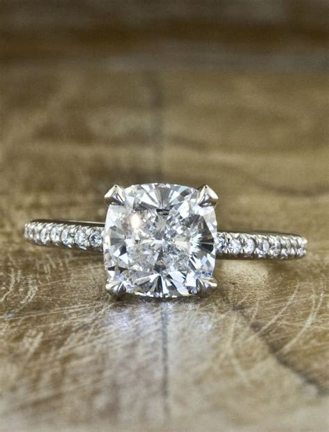24 Most Loved Cushion Cut Engagement Rings   Beautiful