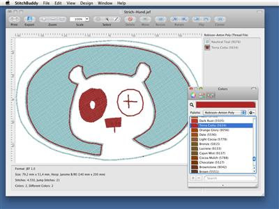Stitch Buddy 2.8 Mac OS X
