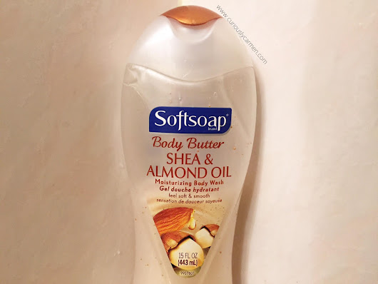 Softsoap Shea & Almond Oil Body Wash - Curiously Carmen