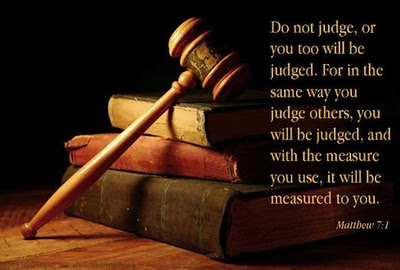 Do Not Judgeor You Too Will Be Judged Inspirational Quote