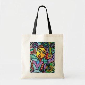 Mexican Artist Painter Tote Bag zazzle_bag