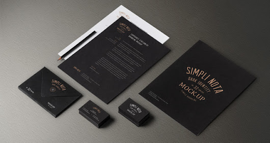 Stationery Branding Mock Up Vol 3-2 | Psd Mock Up Templates | Pixeden