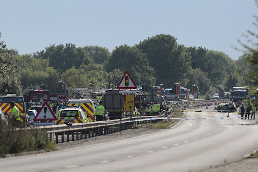 Seven dead and one critically injured after plane at Shoreham Airshow crashes into cars