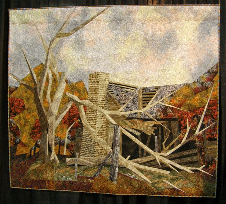 International Quilt Shows  -  Travel Photos by Galen R Frysinger, Sheboygan, Wisconsin Titled The Old Homestead