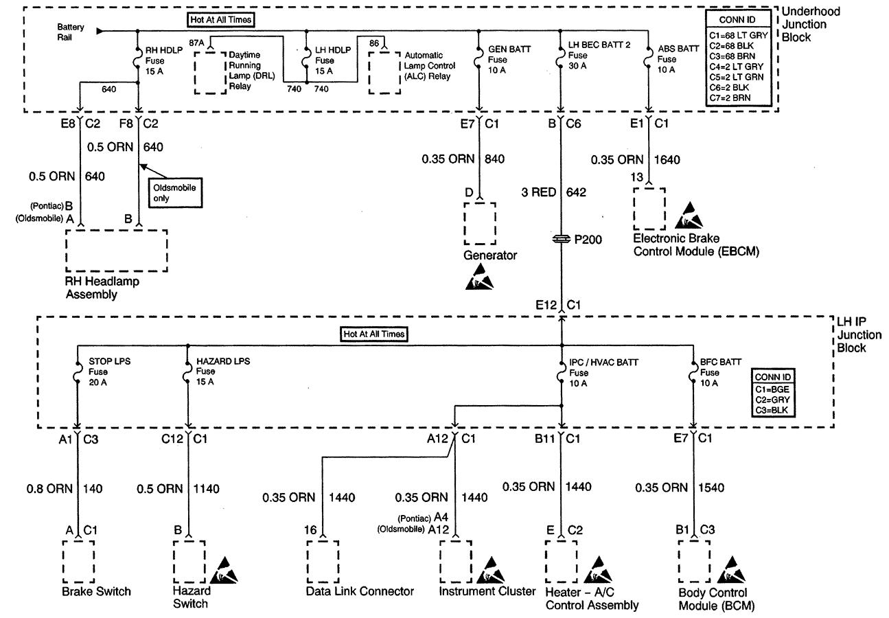 99 Alero Wiring Diagram