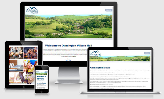 NEW Website for Osmington Village Hall