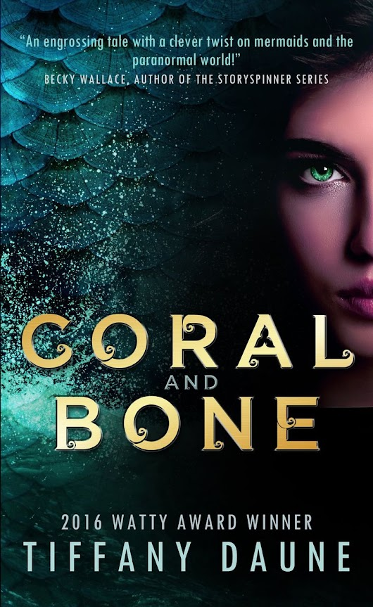 REVIEW: Coral and Bone by Tiffany Daune - Will Bake for Books