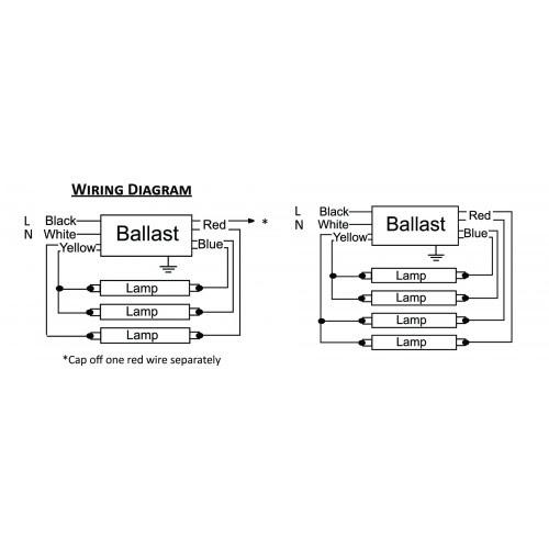 32 3 Lamp T8 Ballast Wiring Diagram