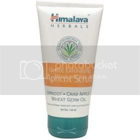 Himalaya Herbal Gentle Exfoliating Apricot scrub