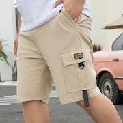 TOP !! SAFARI STYLE 28-50 Inch Men'S SHORTS Cargo 2020 Summer Casual Bigger Pocket Classic 95% Cotton Brand Male Short Pants Trouers
