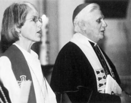 J. Ratzinger: i protestanti devono rafforzarsi. No al confessionalismo. Grande Lutero. Cambiare idea di conversione