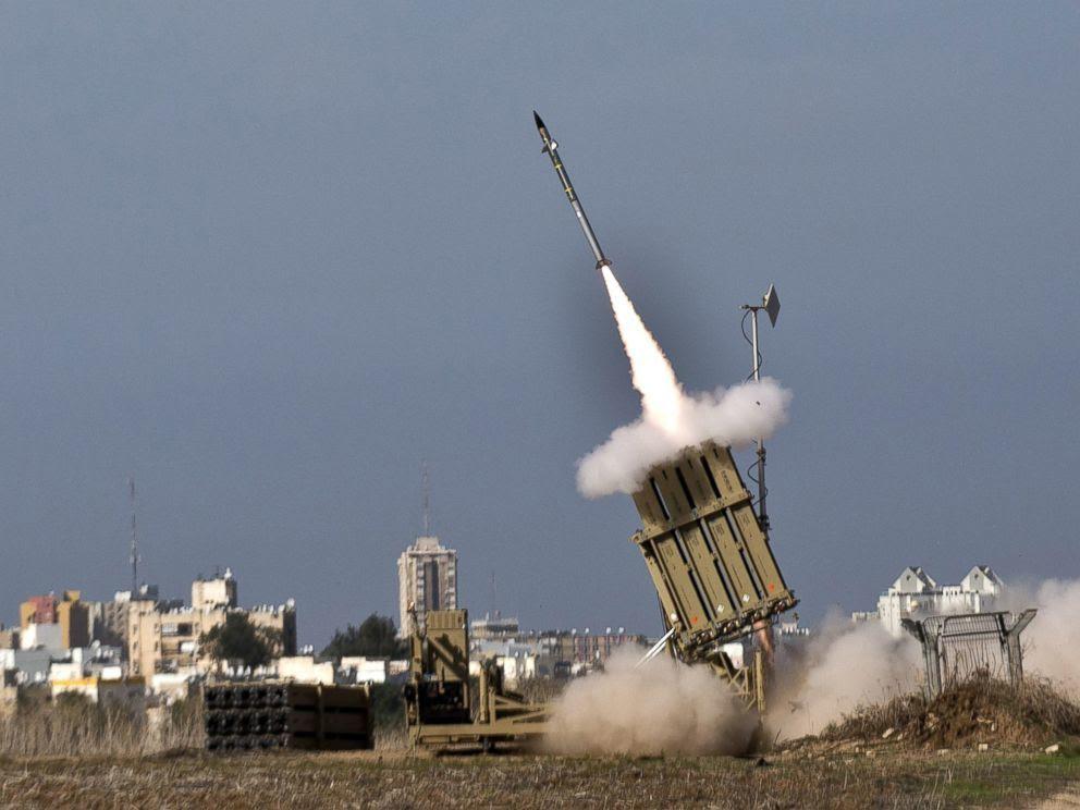 Resultado de imagen de ti-misiles de Iron Dome (Cúpula de Hierro)