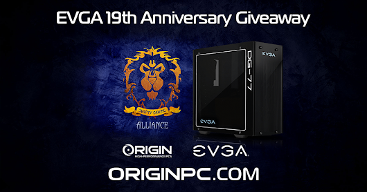 Special EVGA Edition ORIGIN PC!