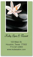 BCS-1125 - salon business card
