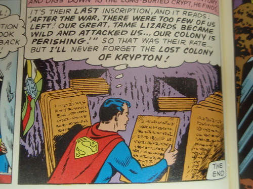 the lost colony of krypton
