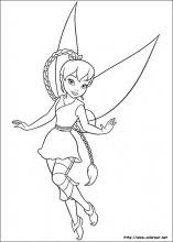 Dibujos De Campanita Para Colorear En Colorearnet