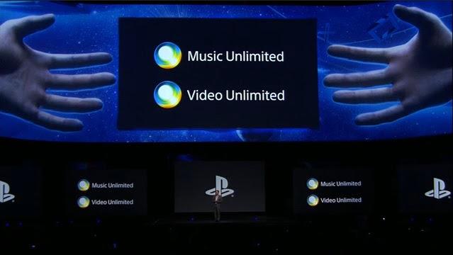 PS4 terá integração com serviços de vídeo e música (Foto: Reprodução)