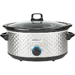 Brentwood Appliances 7 Quart Slow Cooker Silver