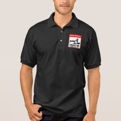 Brain damage, Trust me, I can fix it! Polo Shirt