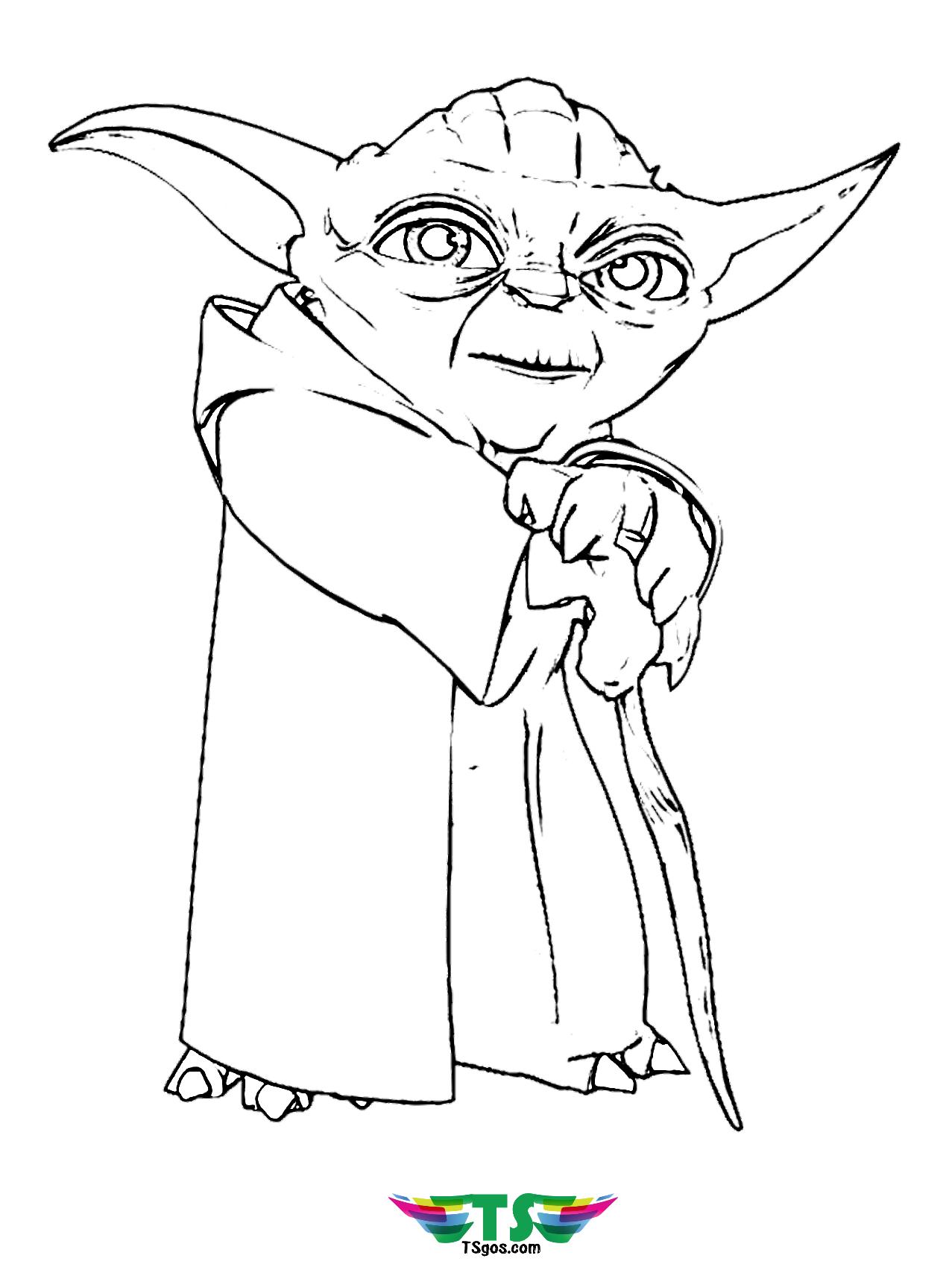 Star Wars Baby Yoda Coloring Pages Printable   Coloring and Drawing