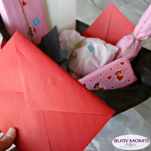 Valentine's Day Gift Basket: Guess the Gift - Busy Moms Helper