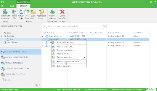 Veeam Backup & Replication 9.5 Update 1 veröffentlicht - Tobbis Blog