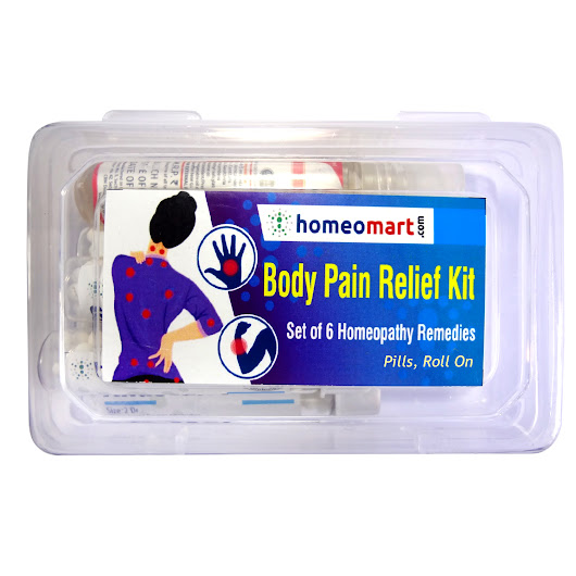 Homeopathy Body Pain Relief Medicines Kit - Homeopathy Remedies