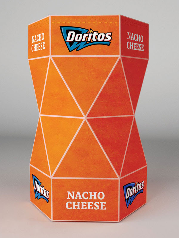 Doritos Packaging Design Concept 1 30+ Crispy Potato Chips Packaging Design Ideas