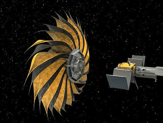 The flower-shaped starshade that might help us detect Earth-like planets