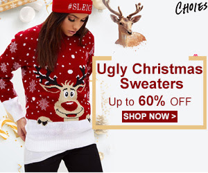 SWEET CUTE Christmas Sweaters!Up to 60% OFF!