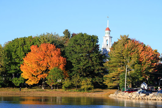 Fall Foliage and Autumn Images of Kennebunkport Maine and Kennebunk Beach | Kennebunkport Maine Hotel and Lodging Guide